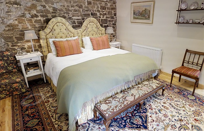 North Devon bed and breakfast room in the converted barn